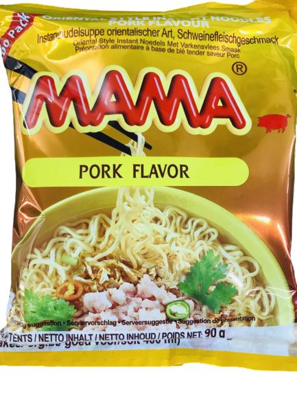 Mama Instant Noodles Pork Flavor 60 G