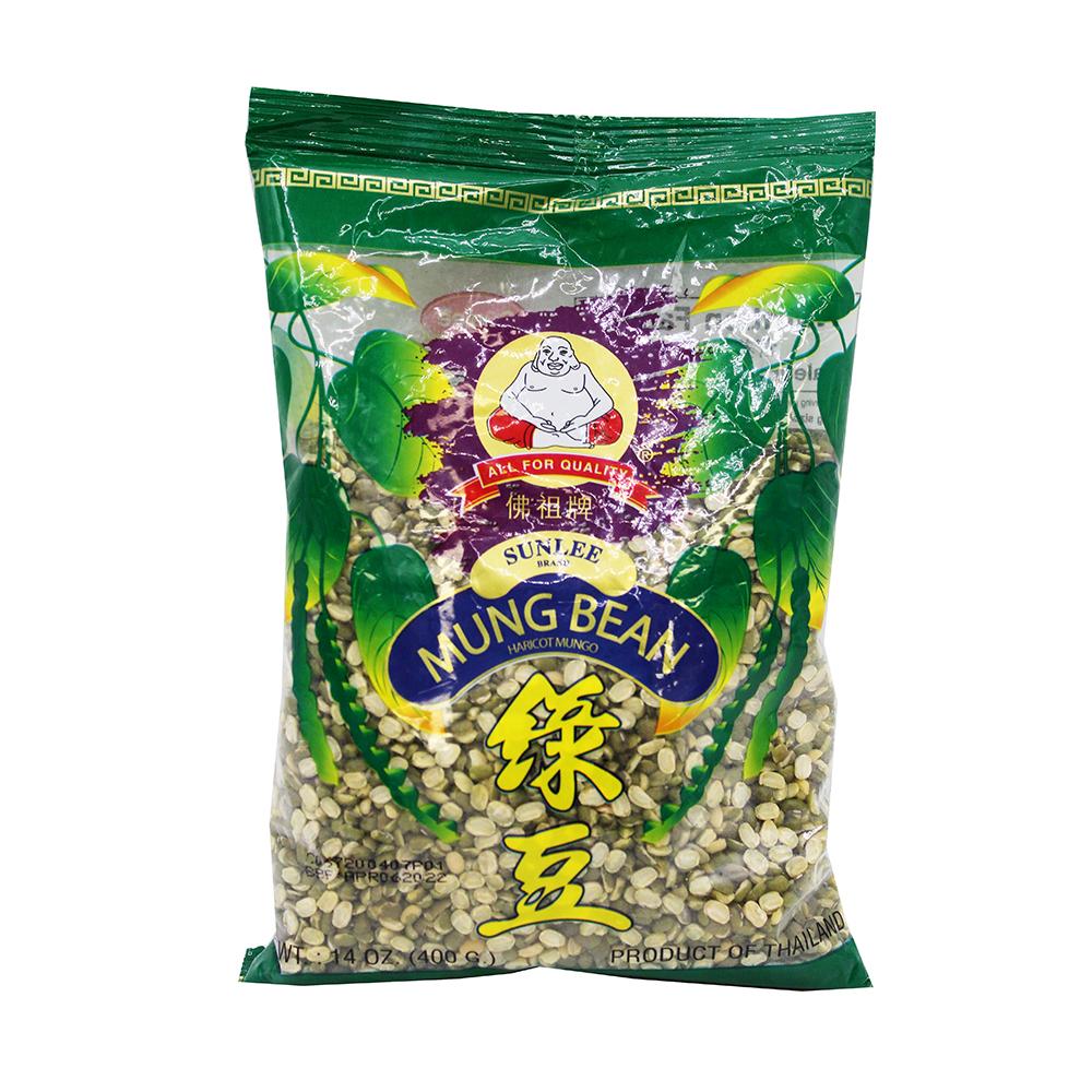 SUNLEE Mung Bean Haricot Mungo Splited 14 Oz