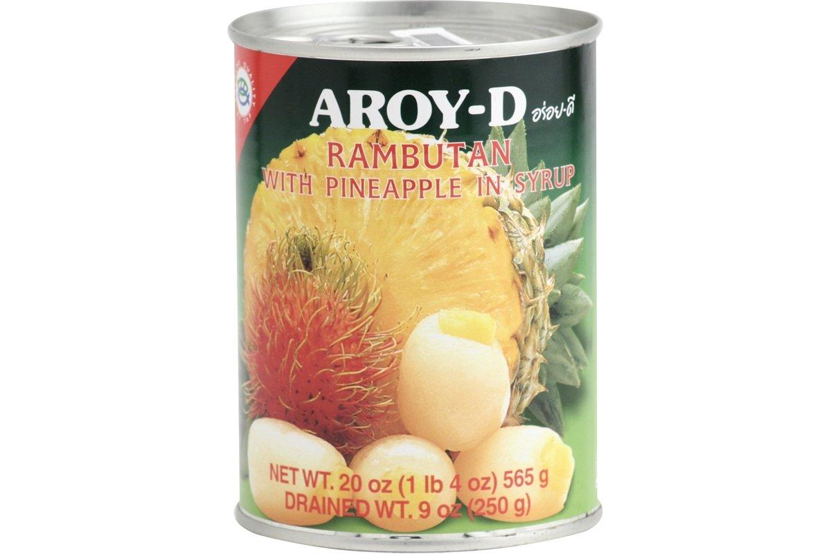 Aroy-D Rambutan W/ Pineapple 20 Oz