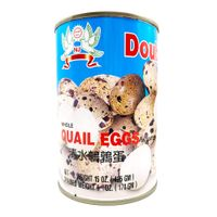 DOUBLE DOVE  Whole Quail Eggs In Can 15 Oz