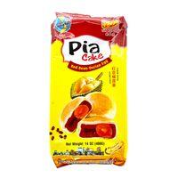 TAN HUE VIEN Pia Cake Red Bean  Durian  Egg / Banh Pia Dau Do  Sau Rieng  Trung 14 Oz