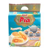 HAPPY ELEPHANT Pia Cake Mung Bean Durian / Banh Pia Dau Xanh & Sau Rieng 14Oz