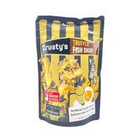 CRUSTY'S Truffle Flavor Salmon Fish Skin Chips 3.5 Oz