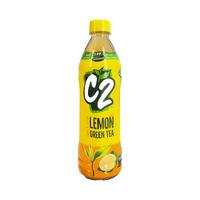 C2 Lemon Green Tea/ Tra Xanh Huong Chanh 455ML
